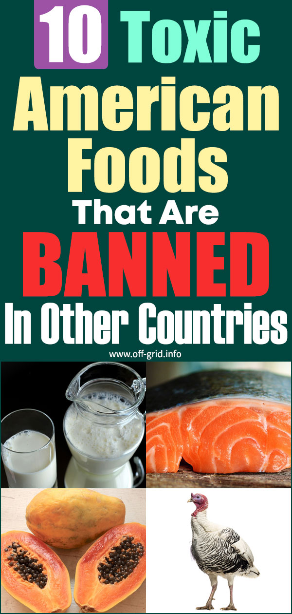 10 Toxic American Foods That Are BANNED In Other Countries