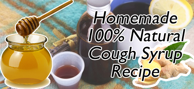 100 Percent Natural Homemade Cough Syrup Recipe
