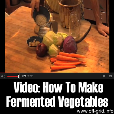 Video: How To Make Fermented Vegetables