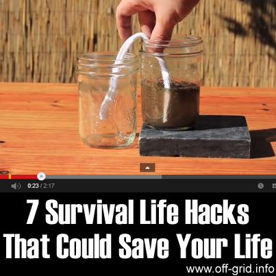 7 Survival Life Hacks That Could Save Your Life
