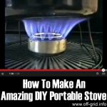 How To Make An Amazing DIY Portable Stove