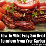 How To Make Easy Sun-Dried Tomatoes From Your Garden