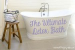 How To Make The Ultimate Detox Bath!