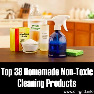 Top 38 Homemade Non-Toxic Cleaning Products