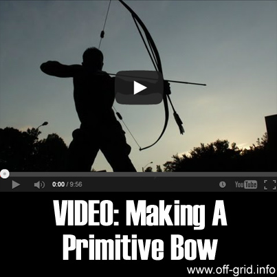 Video - Making A Primitive Bow