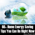 60+ Home Energy Saving Tips You Can Do Right Now