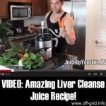 VIDEO: Amazing Liver Cleanse Juice Recipe
