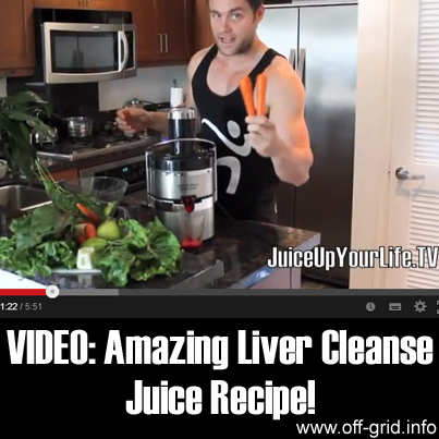 VIDEO: Amazing Liver Cleanse Juice Recipe!