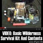 VIDEO: Basic Wilderness Survival Kit And Contents