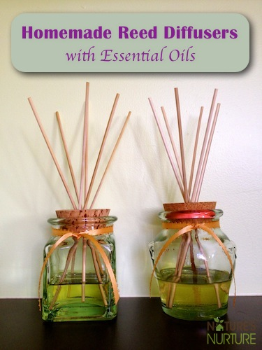 How To Make Homemade Air Fresheners With Essential Oils!