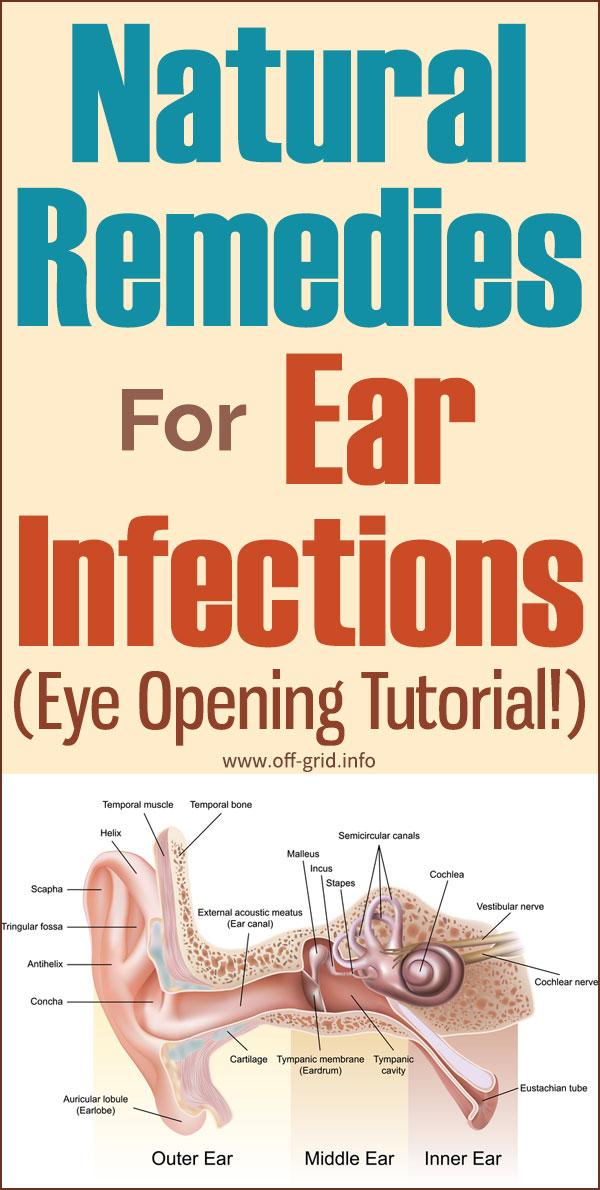 Natural Remedies For Ear Infections (Eye Opening Tutorial!)