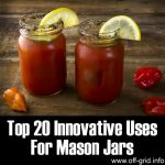 Top 20 Innovative Uses For Mason Jars