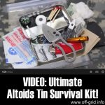 VIDEO: Ultimate Altoids Tin Survival Kit!
