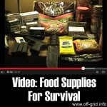 VIDEO: Food Supplies For Survival