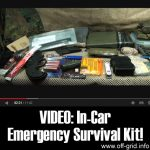 VIDEO: In-Car Emergency Survival Kit!
