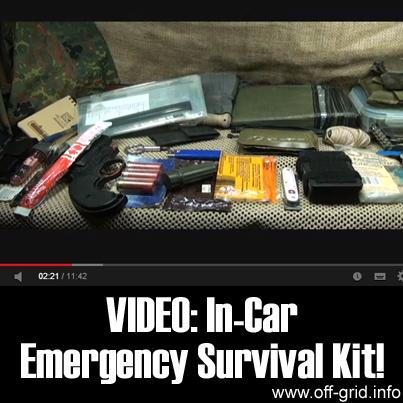 Video: In-Car Emergency Survival Kit
