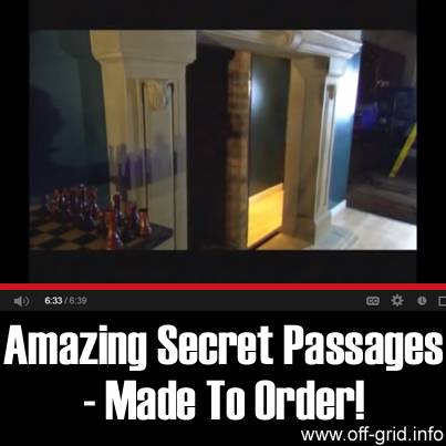 Amazing Secret Passages - Made To Order!