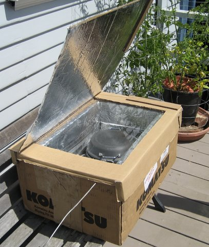 How To Make Your Own Diy Solar Oven Off Grid