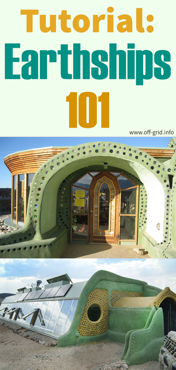 Tutorial Earthships 101