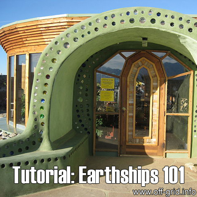 Tutorial - Earthships 101