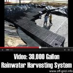 Video: 30,000 Gallon Rainwater Harvesting System