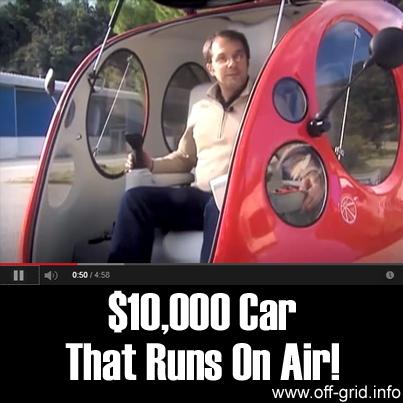 $10,000 Car That Runs On Air!