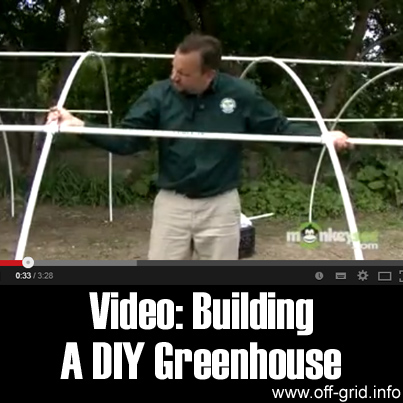 Video - Building A DIY Greenhouse