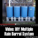 Video: DIY Multiple Rain Barrel System