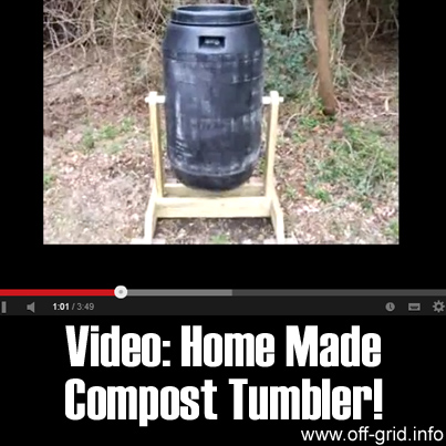 Video - Home Made Compost Tumbler
