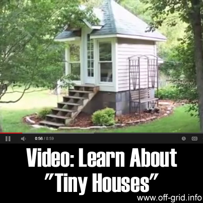 Video- Learn About Tiny Houses