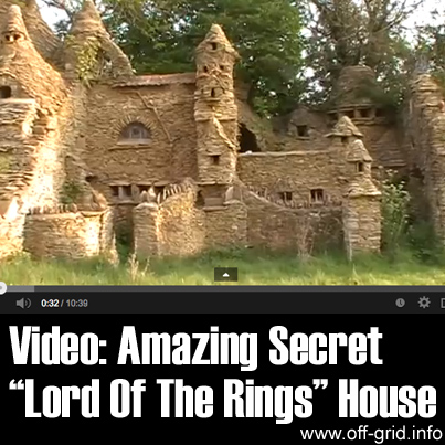 Video - Amazing Secret Lord Of The Rings House