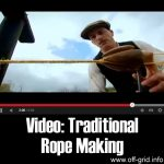 Video: Traditional Rope Making