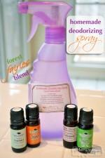 Homemade Green Non-Toxic Deodorizing Spray: