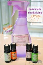 Homemade Green Non-Toxic Deodorizing Spray:
