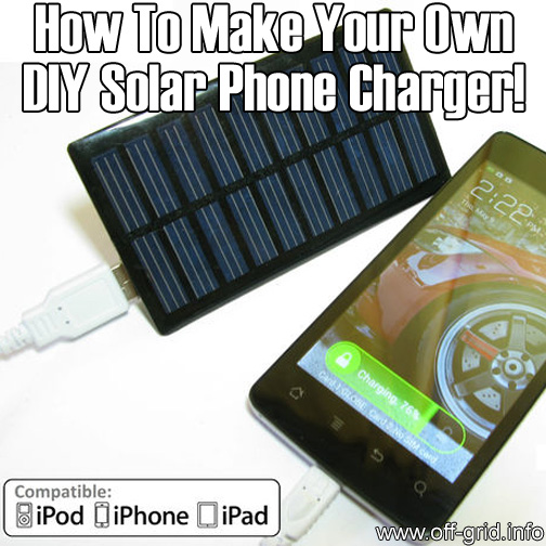 Chapter Build Your Own Solar Powered Usb Charger Solar Guide