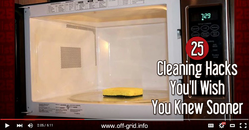 25 Cleaning Hacks You'll Wish You Knew Sooner