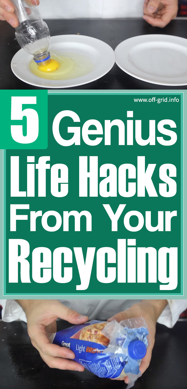 5 Genius Life Hacks From Your Recycling