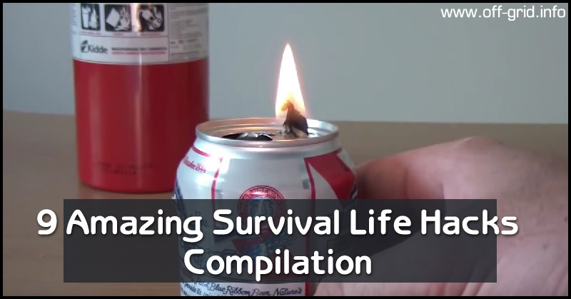 9 Amazing Survival Life Hacks Compilation
