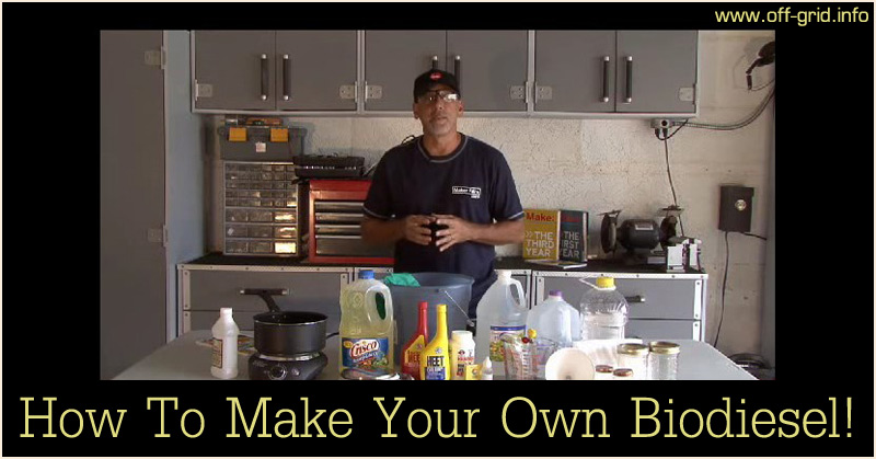 How To Make Your Own Biodiesel!