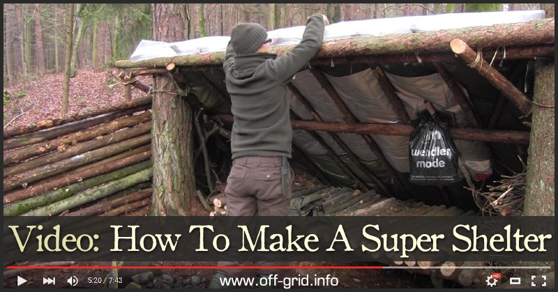 Video How To Make A Super Shelter
