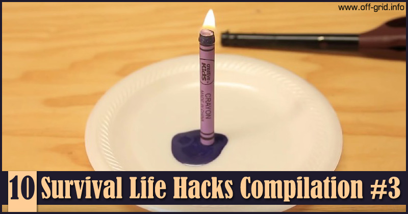 10 Survival Life Hacks Compilation #3