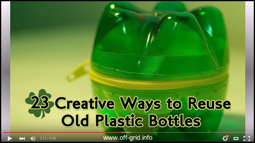 23 creative ways to reuse old plastic bottles off grid On creative ways to reuse plastic water bottles
