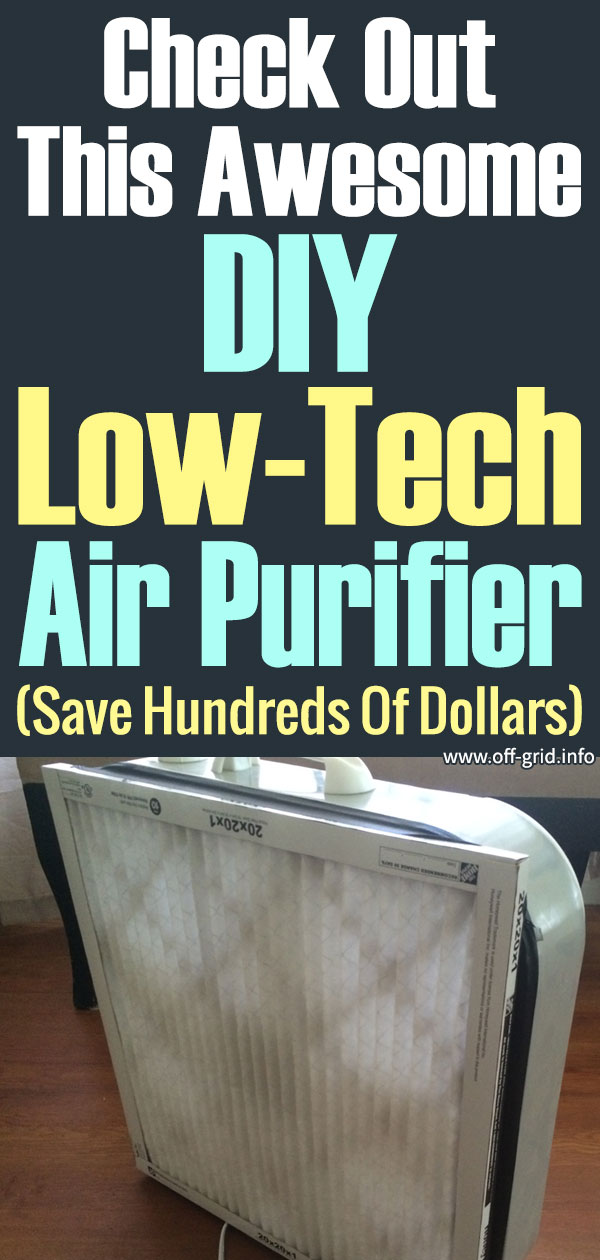 Check Out This Awesome DIY Low-Tech Air Purifier