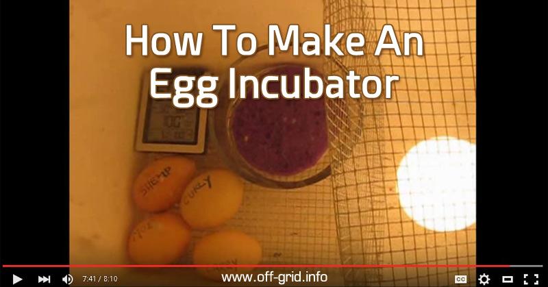 How To Make An Egg Incubator