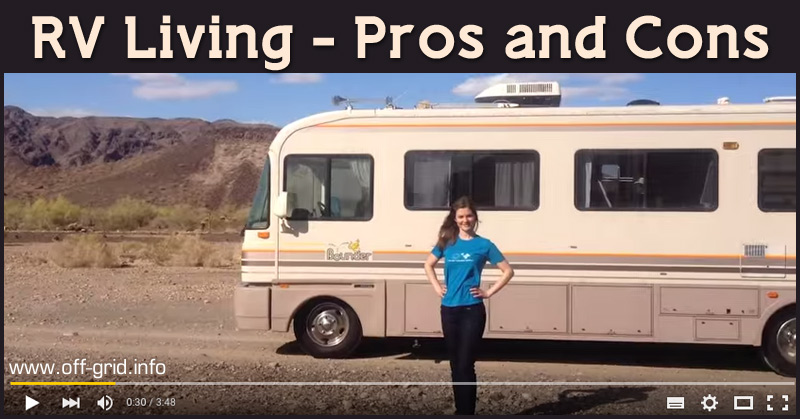 Rv living pros and cons off grid Pros and cons of living in an apartment