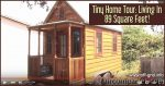 Tiny Home Tour Living In 89 Square Feet!