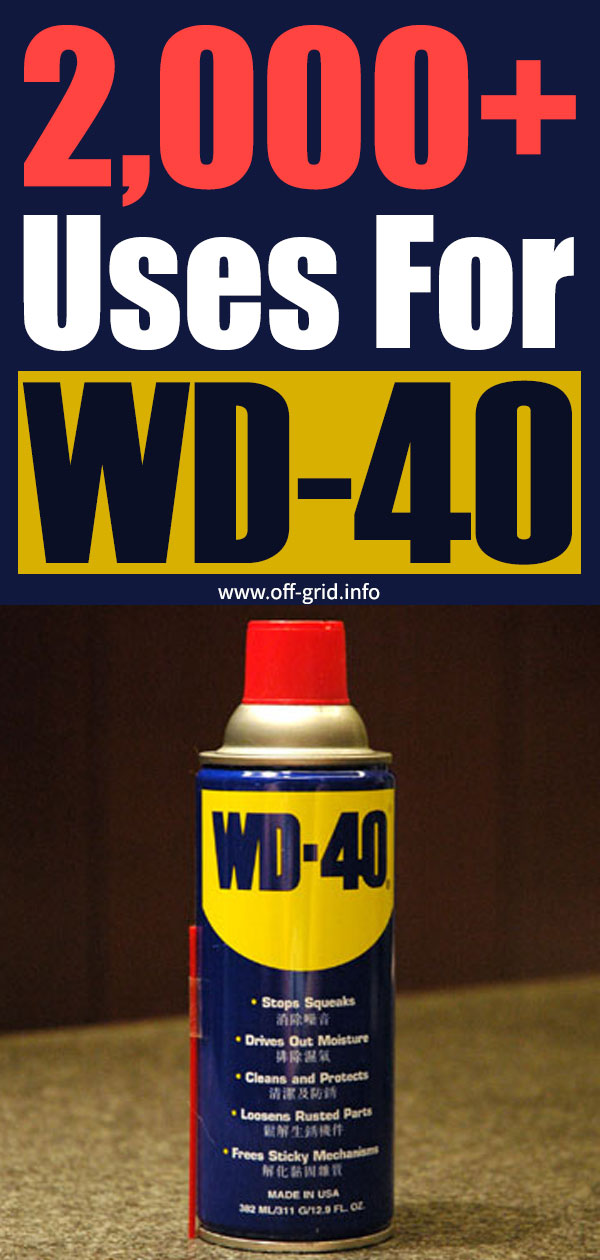 2,000+ Uses For WD-40