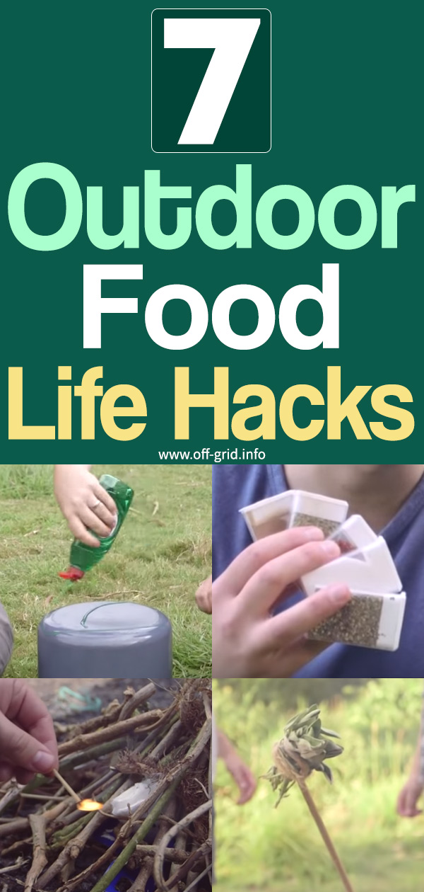 7 Outdoor Food Life Hacks