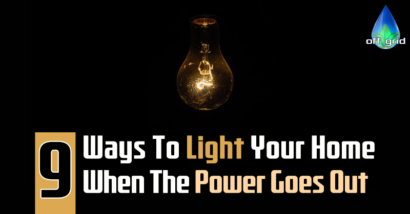 9 Ways To Light Your Home When The Power Goes Out