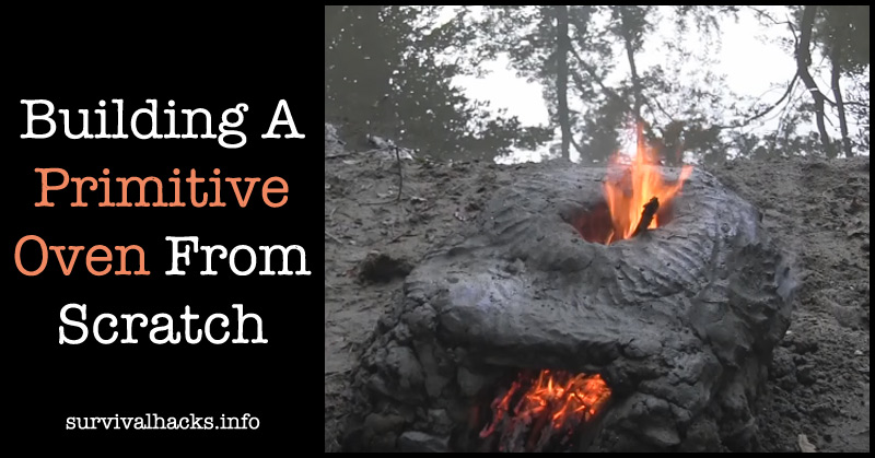 Building A Primitive Oven From Scratch